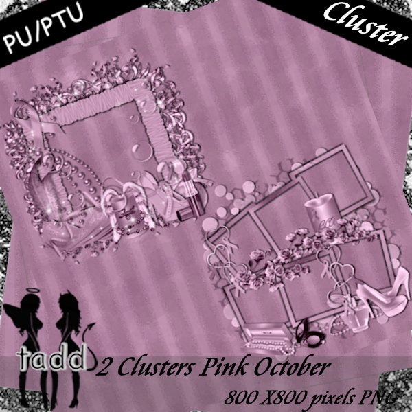 Clusters Pink October