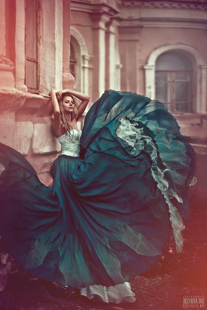 Feminine photos by the fashion photographer Svetlana Belyaeva