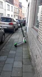 Trottinettes partagées : six communes interdiront le stationnement sur une partie de leurs voiries