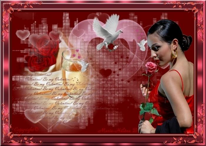 ♥♥♥ Rose d'amour ♥♥♥