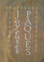 Vos Broderies - Pâques étape 1 et 2