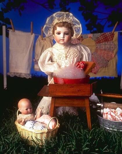 Les poupées anciennes