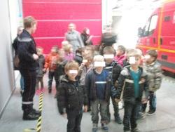 Sortie chez les pompiers