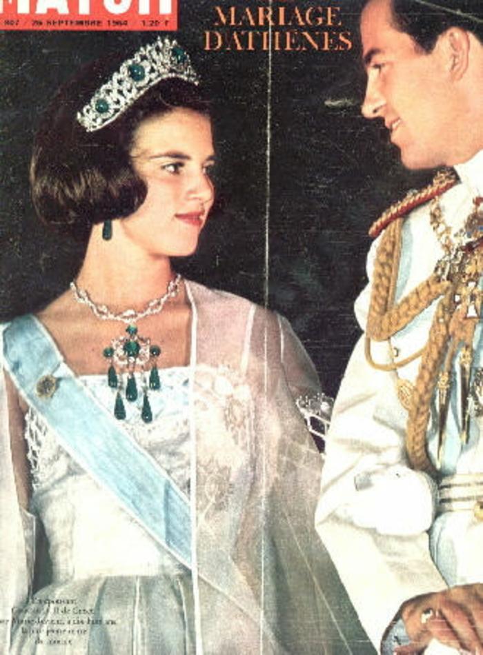 70 ans de la reine Anne-Marie de Grèce