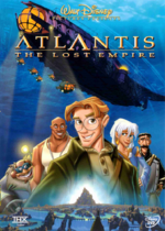 DVD - Atlantis (Disney)