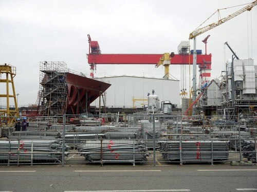 Le portique qui peut supporte 2000 tonnes