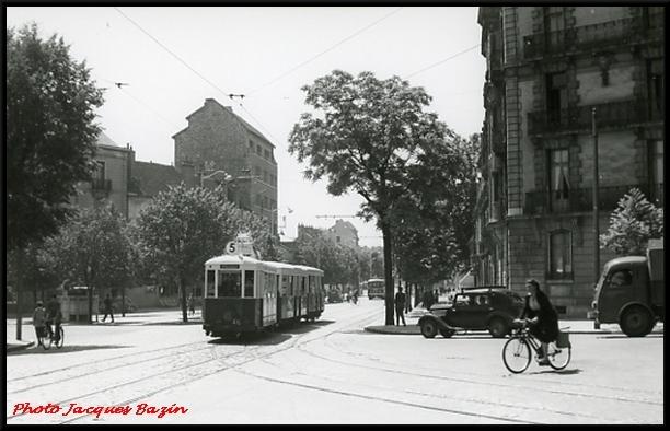 Après ses premiers tramways, la ville de Dijon s'était dotée de...trolleys-bus.