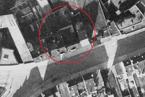 Temple Antoiniste Rue Jacques Rayé 29, Schaerbeek, en 1930 (ici.be)