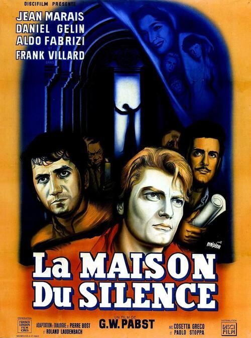 LA MAISON DU SILENCE BOX OFFICE FRANCE 1953