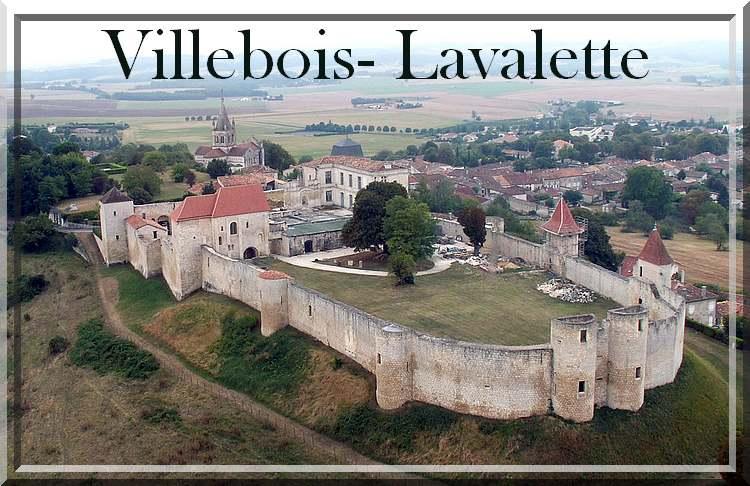 Villebois-Lavalette et son château