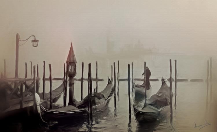 Brouillard à Venise