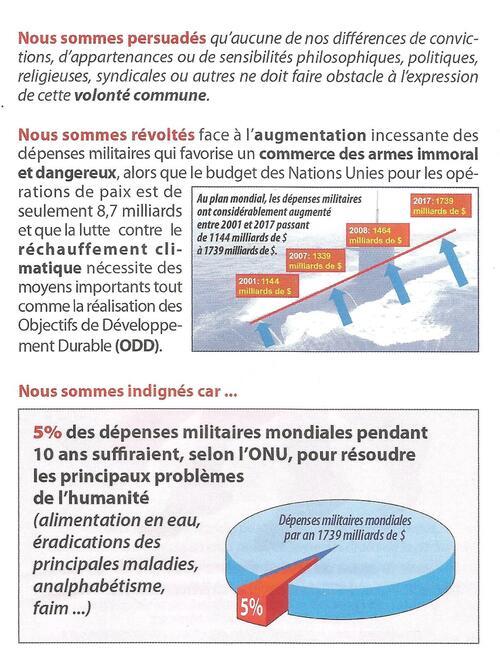 Samedi 22 septembre-La Cornouaille marche pour la paix à Quimper (RDV 11h-pont Médart)