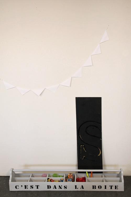 Collection GRIGRIS PERLE : grande boîte à outils étoile noire