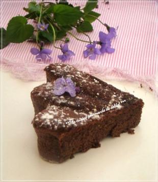 """Fondant au Chocolat sans beurre de C. Felder,""""Le Bellevue"""""""