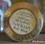 NAHEMA vue étiquette