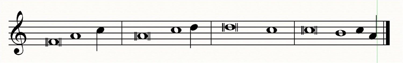 Tons de psaumes en mode de Fa