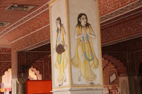 Le temple Goving Devji à Jaipur