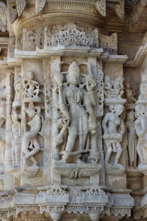 Le temple de Parshvanâtha à Ranakpur