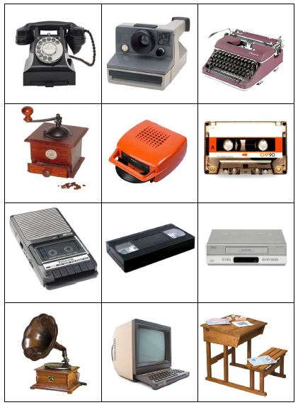 les objets d 39 hier et d 39 aujourd 39 hui fofy l 39 cole. Black Bedroom Furniture Sets. Home Design Ideas