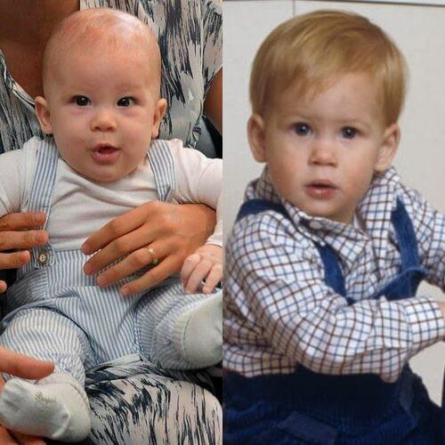 Les 4 petits enfants de Charles et Diana