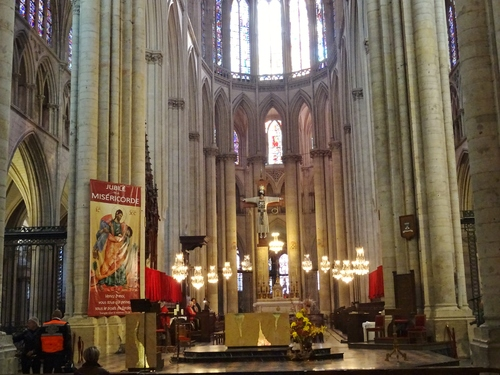 Le Mans: la cathédrale Zaint Julien (photos)