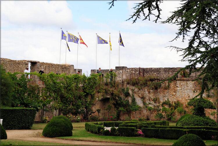 Photos du parc du château de Montreuil Bellay
