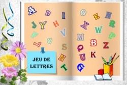 Le jeu de lettres du dimanche
