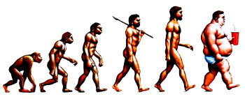 Evolution de l'homme vers l'obésité...