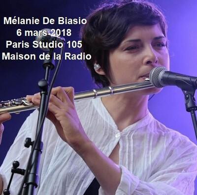 Flash d'été n°2: Mélanie De Biasio - France Inter - 6 mars 2018