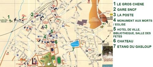 LA LOUPE, Histoire et Plan de la ville