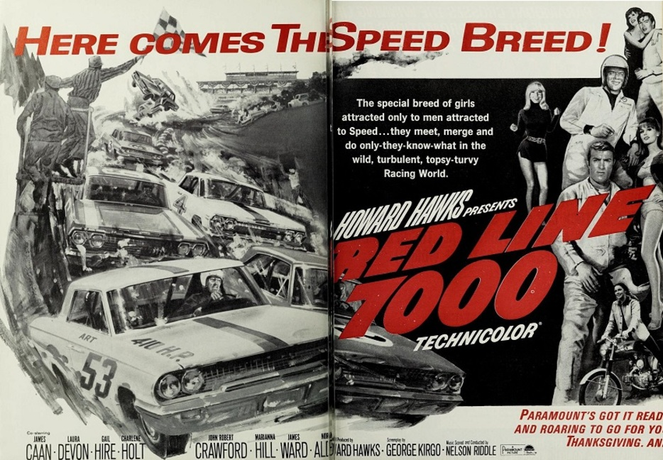 RED LINE 7000 BOX OFFICE USA 1965