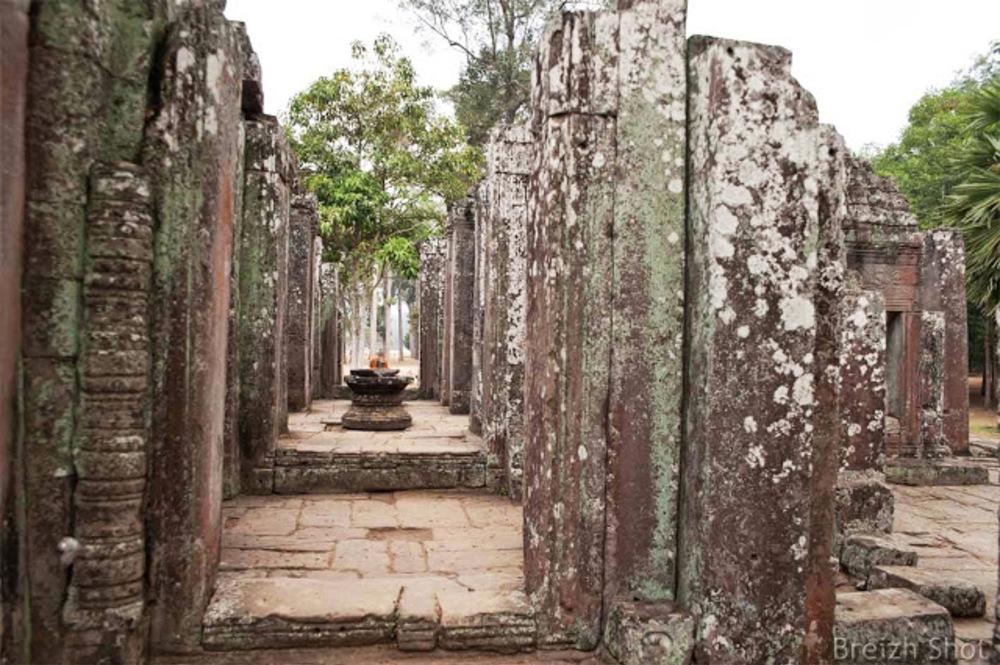 Angkor Thom, le Bayon - intérieur