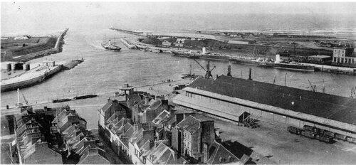 La défense du front de mer de Calais