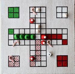 période 2 : fabriquer un jeu de société (cadeau de Noël)