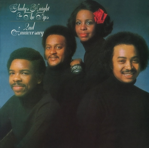 """Gladys Knight & The Pips : Album """" 2nd Anniversary """" Buddah Records BDS 5639 [ US ]"""