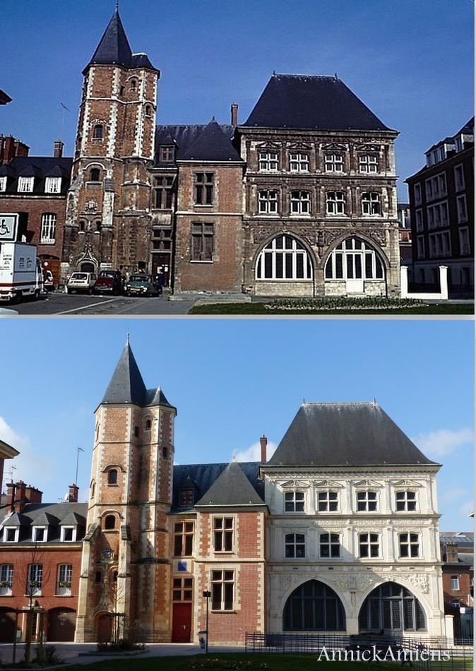 Mes Avant/Après sur ma ville d'Amiens