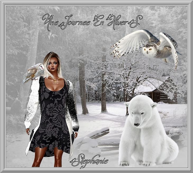 des créations sur le terme de l'hivers