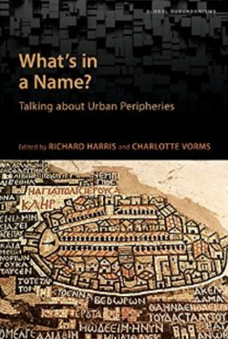 What's in a Name? Talking about Urban Peripheries