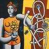 """Fernand Léger """"La  grande Julie""""."""