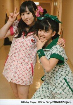 Mizuki Fukumura  譜久村聖  Kanon Suzuki 鈴木香音 Morning Musume Concert Tour 2012 Haru ~Ultra Smart~ モーニング娘。コンサートツアー2012春~ウルトラスマート~