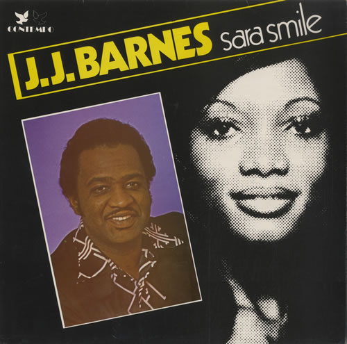 "J.J. Barnes : Album "" Sara Smile "" Contempo Records CLP 604 [ UK ]"