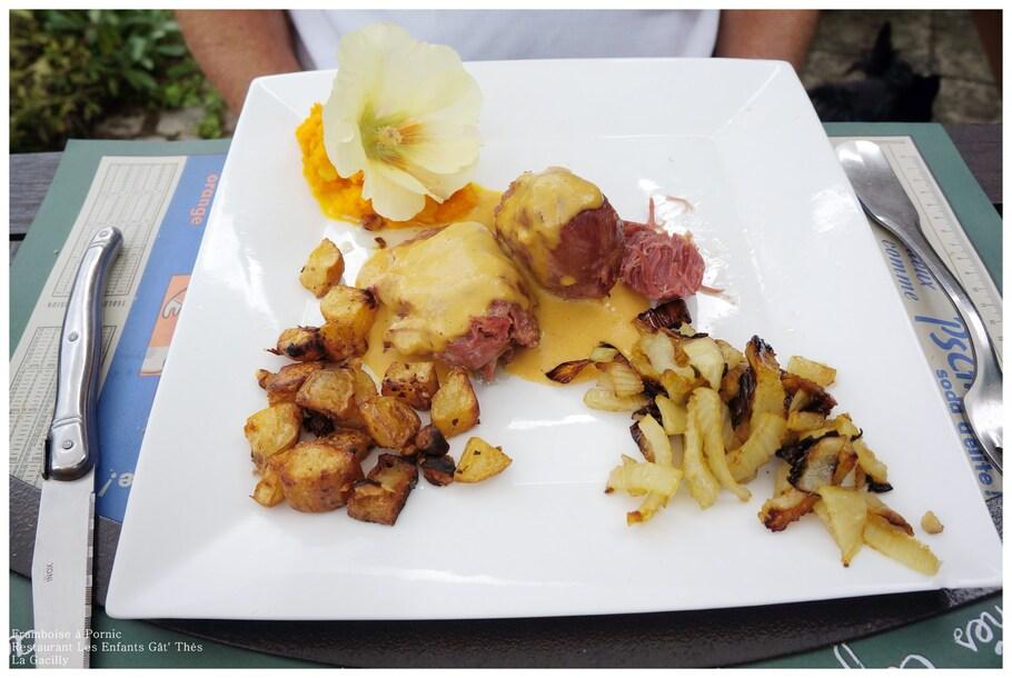 Restaurant les Enfants Gât' Thés à la Gacilly