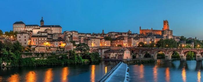 Voici Albi La Ville Rose, Au Patrimoine Mondial De L'Unesco...  Par Philippe Bourget...