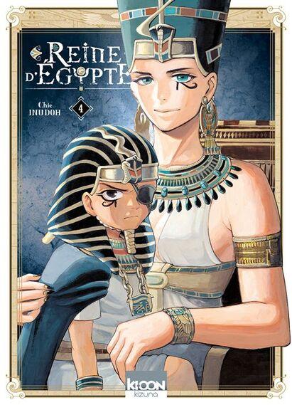 Manga - Reine d'Egypte, tome 4