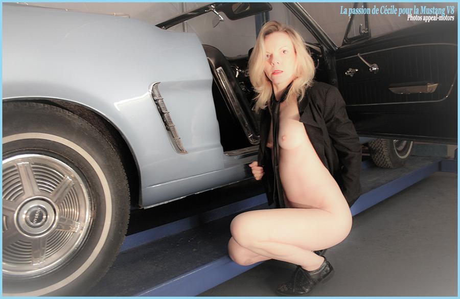 Cécile et son gros V8