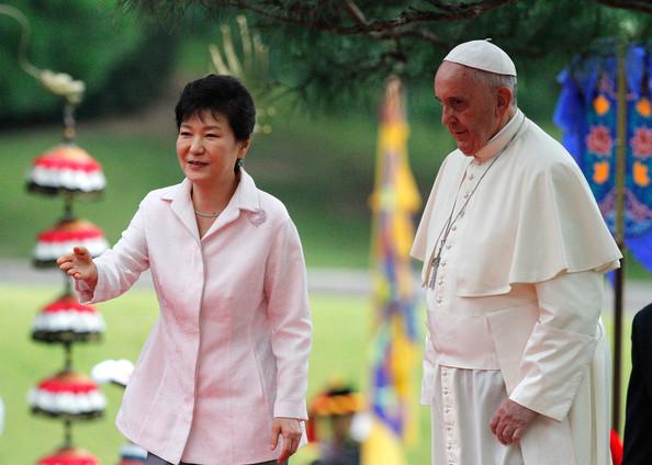 Le pape en Corée
