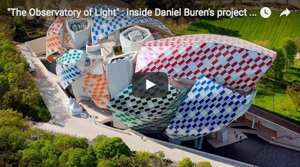 The-Observatory of Light, Daniel-Buren, Fondation Louis-Vuitton