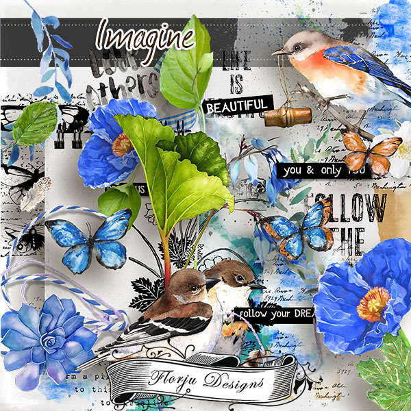 Imagine { kit PU } by Florju Designs