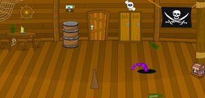 Jouer à Super Sneaky pirate room escape