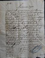 1762. Maistre Legault procureur fiscal du prieuré et de l'abbaye royale de Lehon